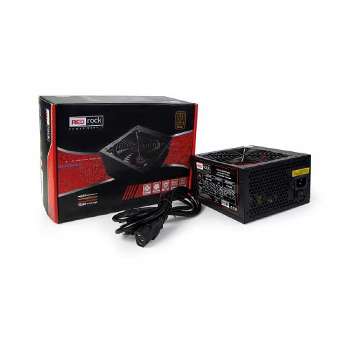 REDROCK GP80PATX800 800W 12cm FANLI POWER SUPPLY 80+ Plus Bronze