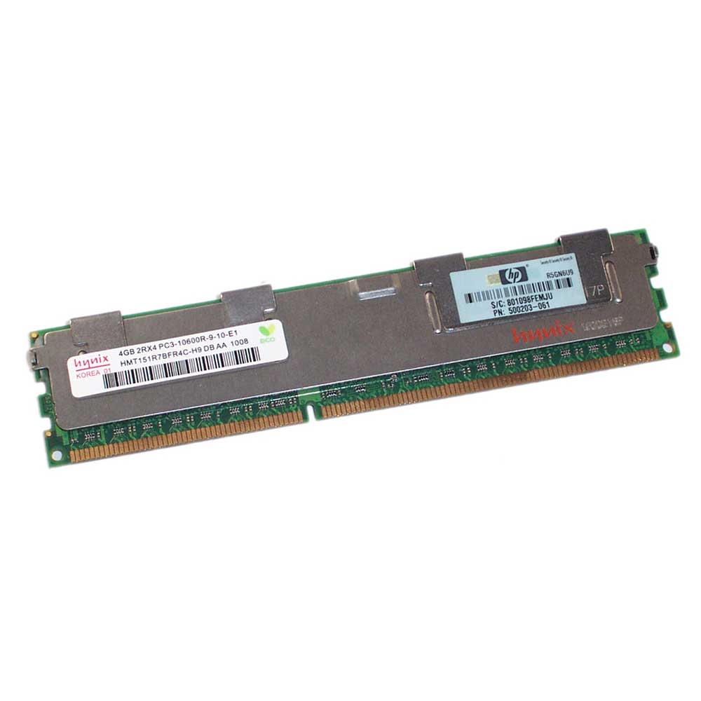 HP 500203-061 4GB 1333 MHZ ECC ECC SERVER RAM