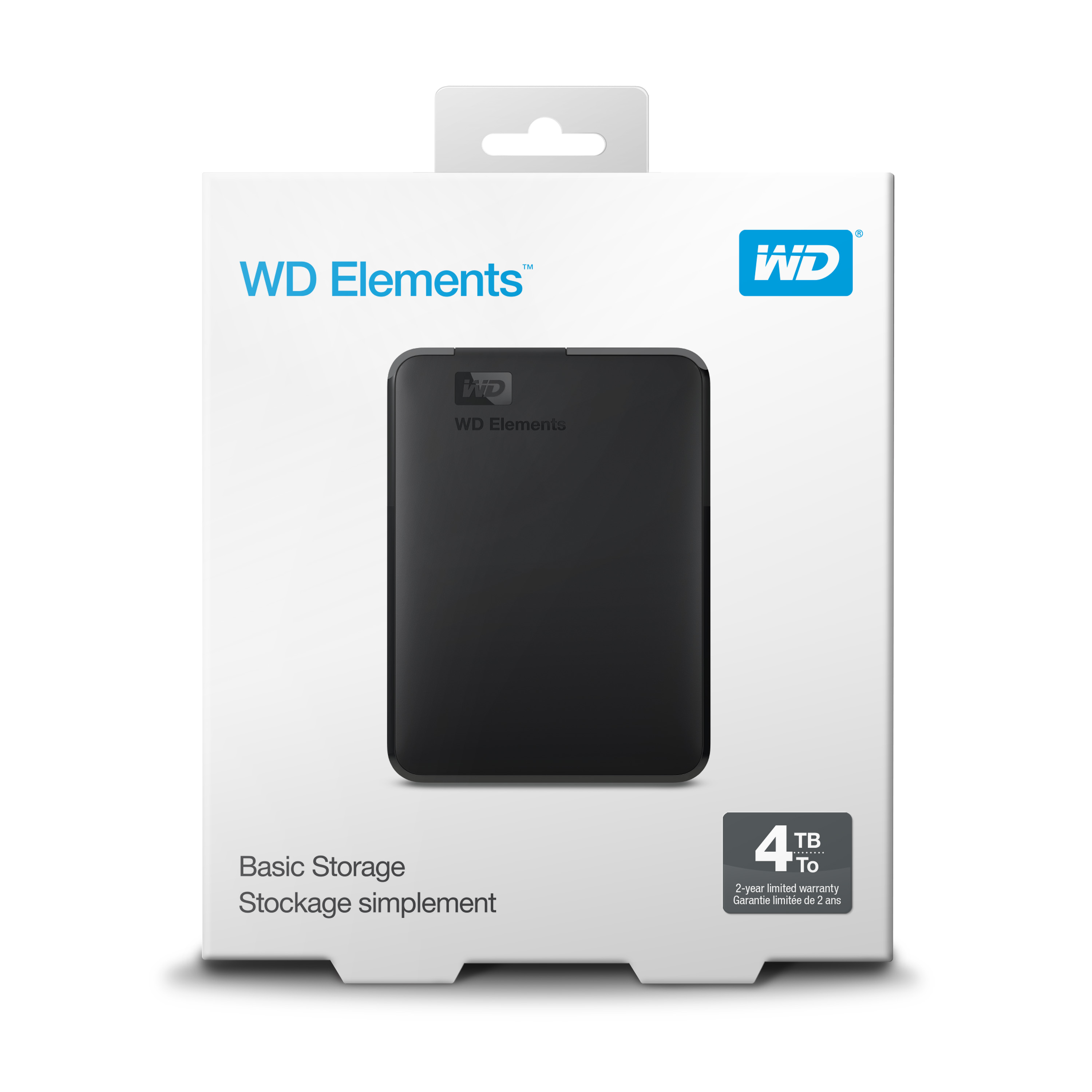 "WD ELEMENTS 4TB USB3.0 2.5"" HARICI HDD WDBU6Y0040BBK"