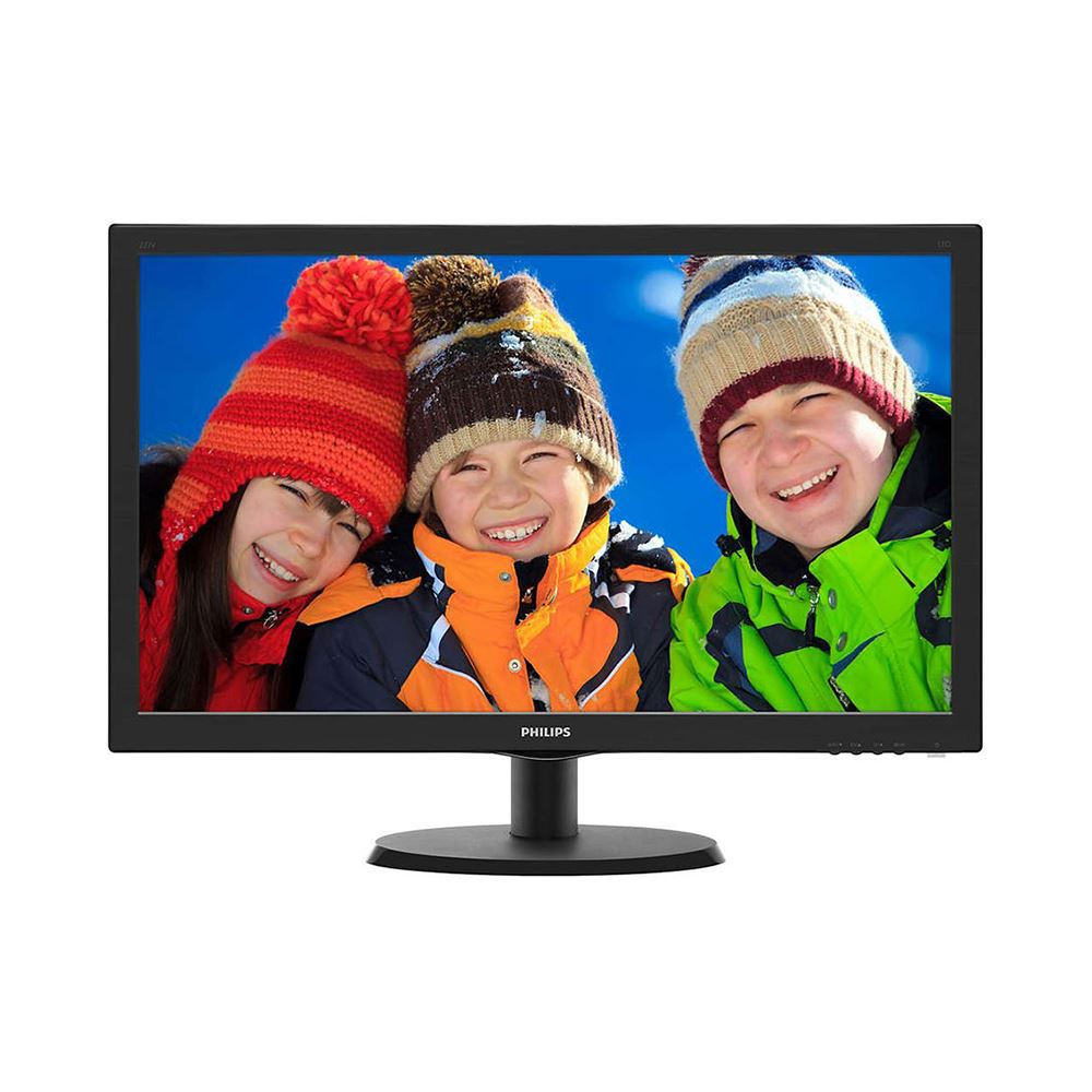 "PHILIPS 223V5LHSB2/01 21.5"" 5MS 1920x1080 VGA/HDMI VESA SİYAH LED MONITOR"