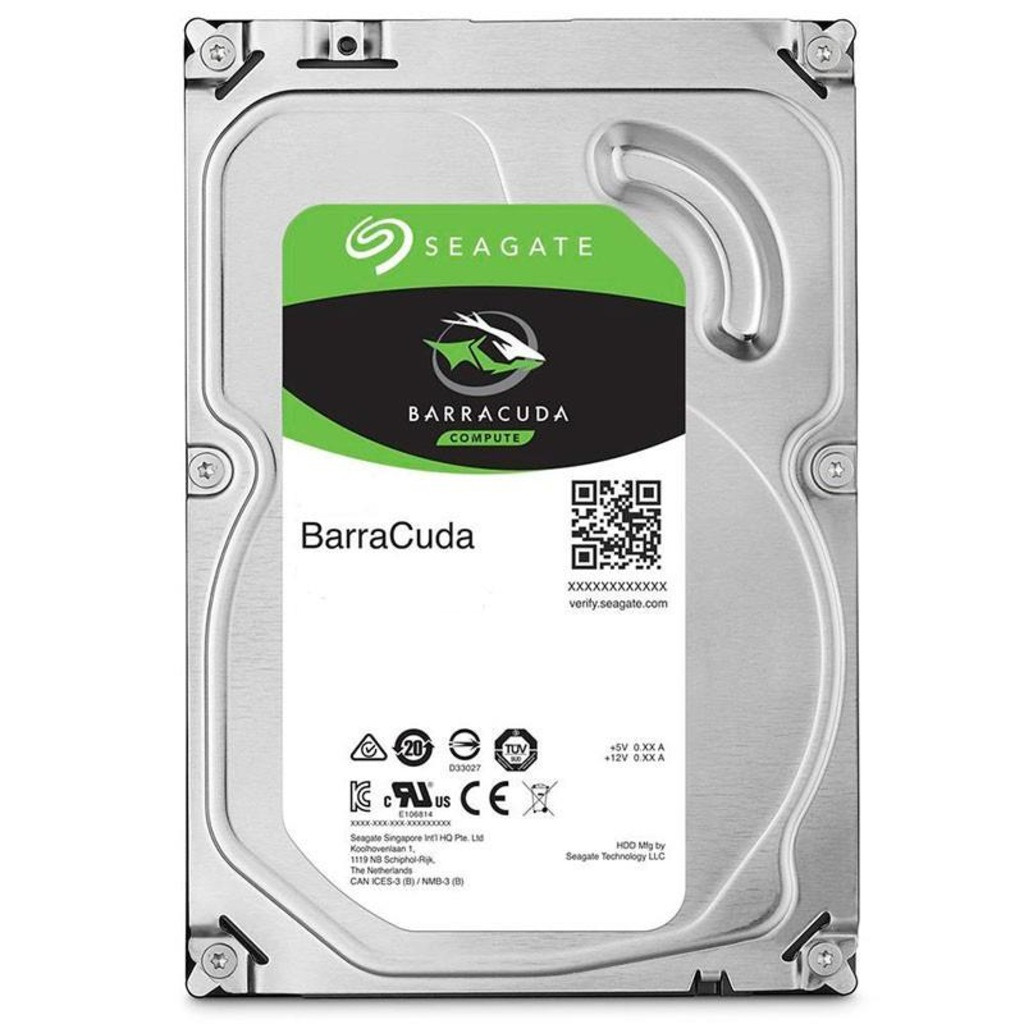 SEAGATE BARRACUDA 1TB 7200RPM 64MB SATA3 6Gbit/sn ST1000DM010 HDD