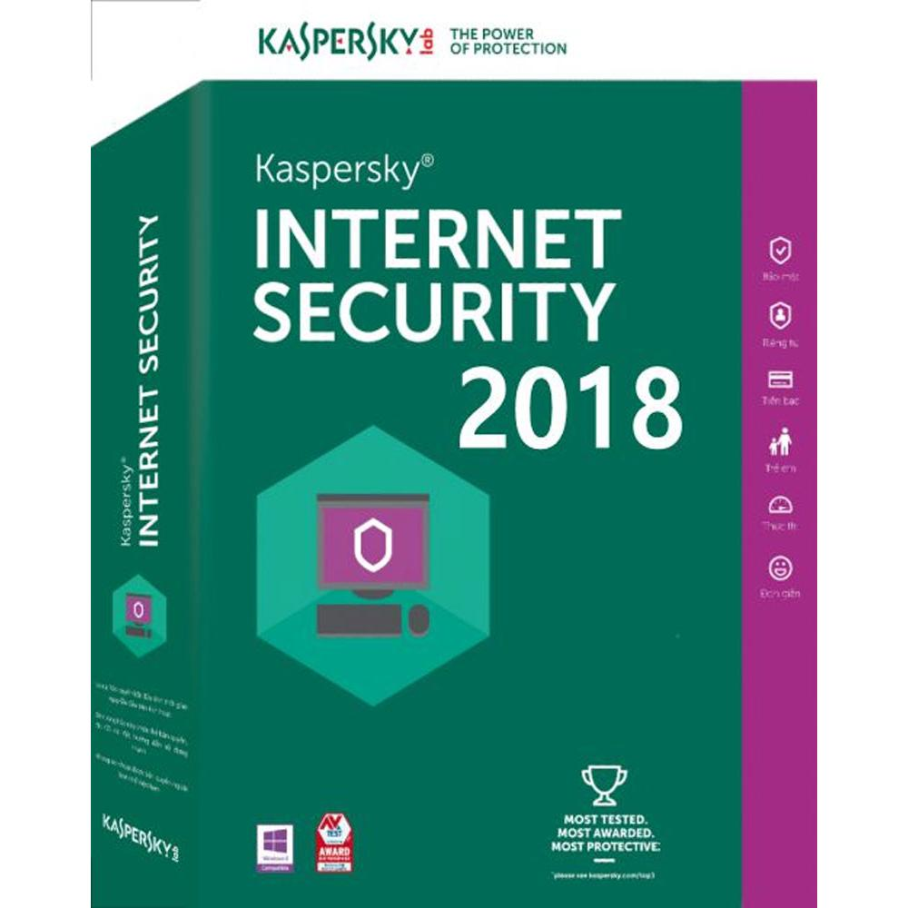 KASPERSKY INTERNET SECURITY 2018 2 KULLANICI 1 YIL