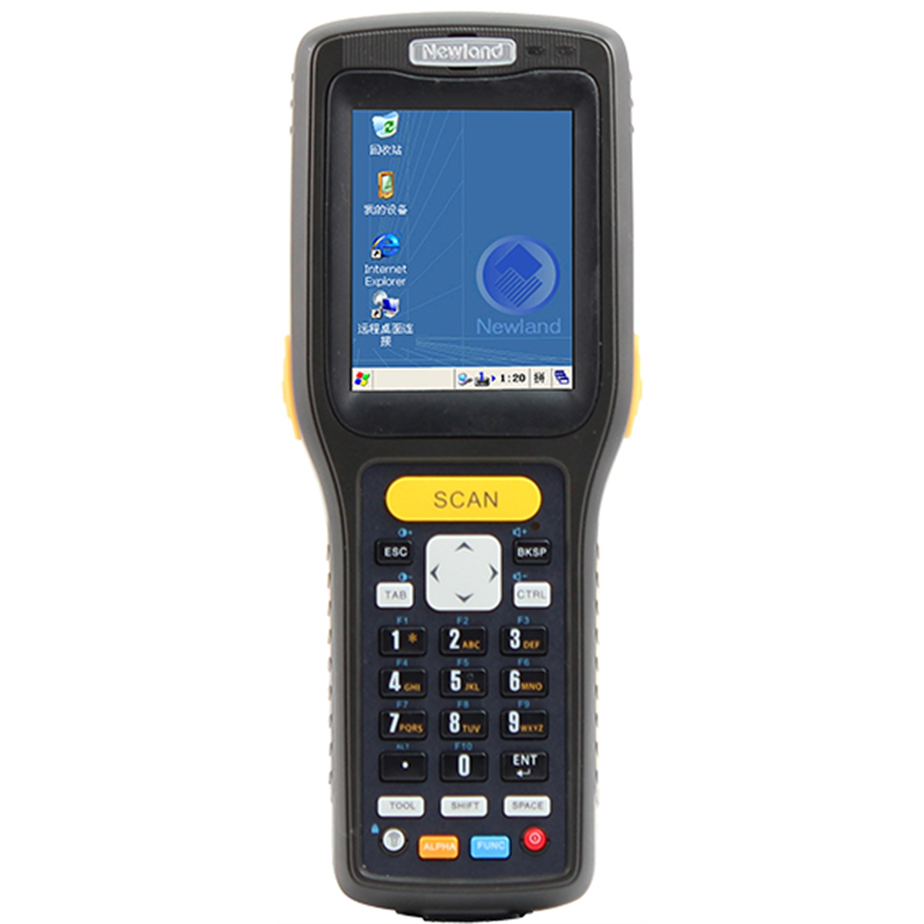 "NEWLAND PT3050-2A 2,8"" LCD WIFI/BT/USB Windows CE.NET 6.0 IP54 CRADLE EL TERMİNALI"