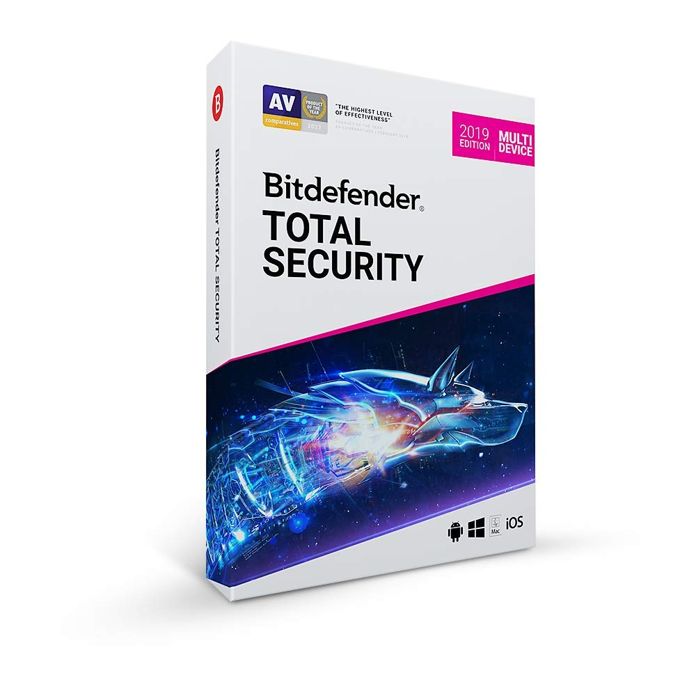BITDEFENDER TOTAL SECURITY 2019 5 KULLANICI 1 YIL