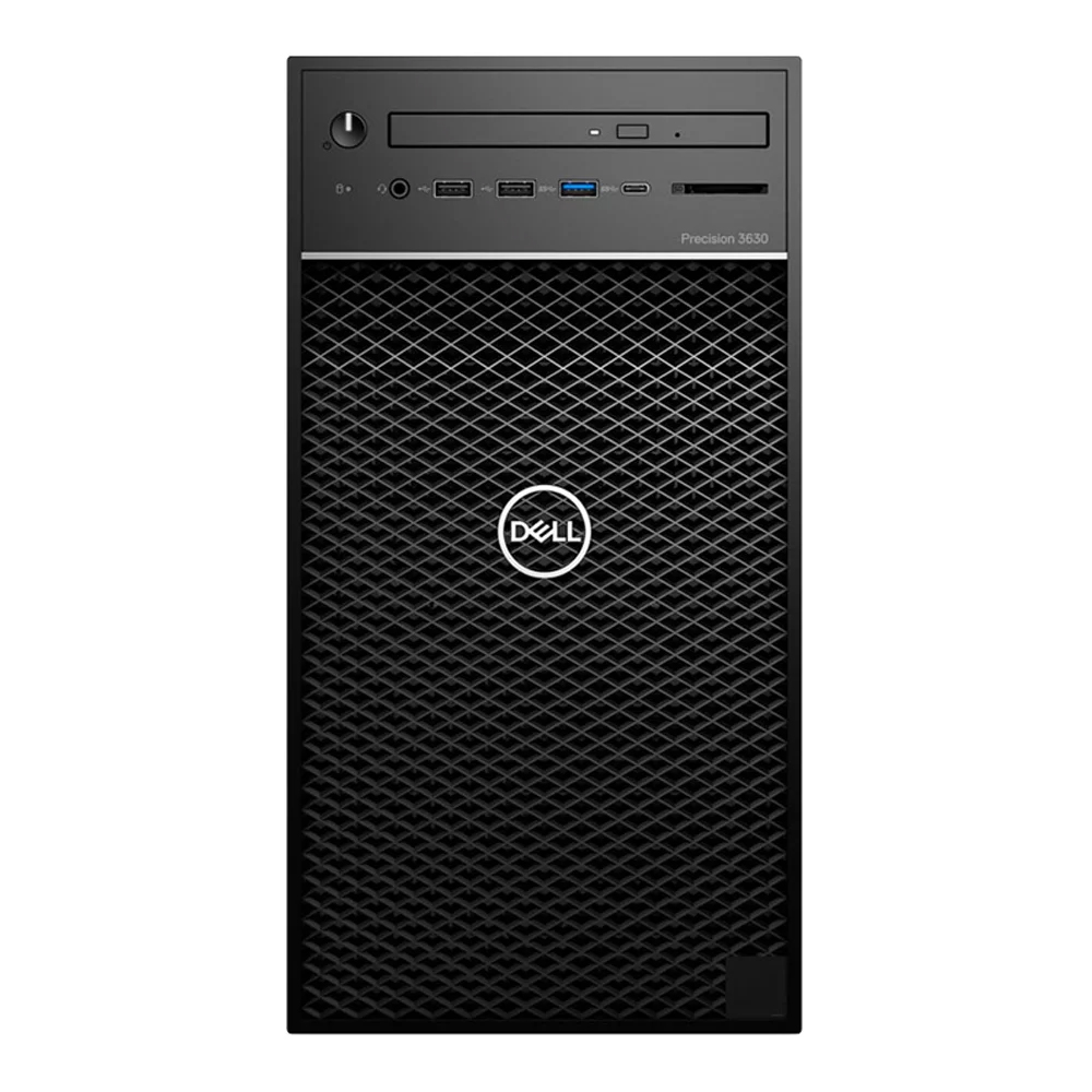 DELL PRECISION T3630 DELTA E-2124 1x8GB 256GB SSD 2GB QUADRO P620 460W WIN10 PRO WORKSTATION