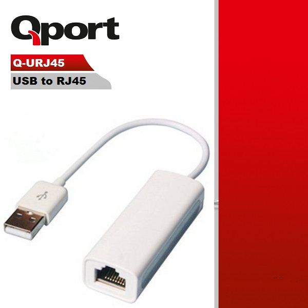 QPORT Q-URJ45 USB TO ETHERNET 10/100 ÇEVİRİCİ