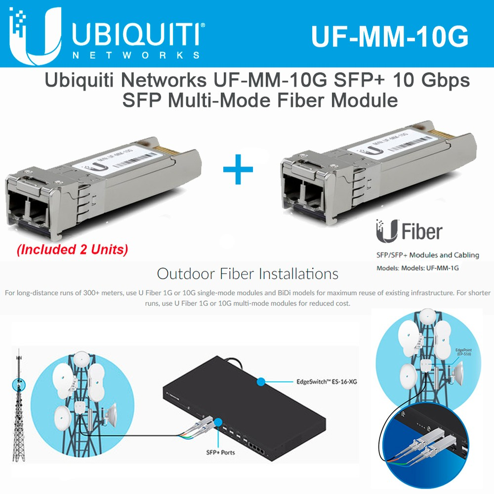 UBNT UF-MM-10G MM SFP MINI GBIC