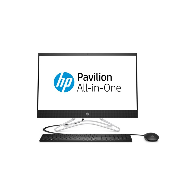 "HP 4MJ52EA 24-F0020NT i5-8250U 8GB 256GB SSD O/B VGA 23.8"" NONTOUCH FREDOOS ALL IN ONE PC"