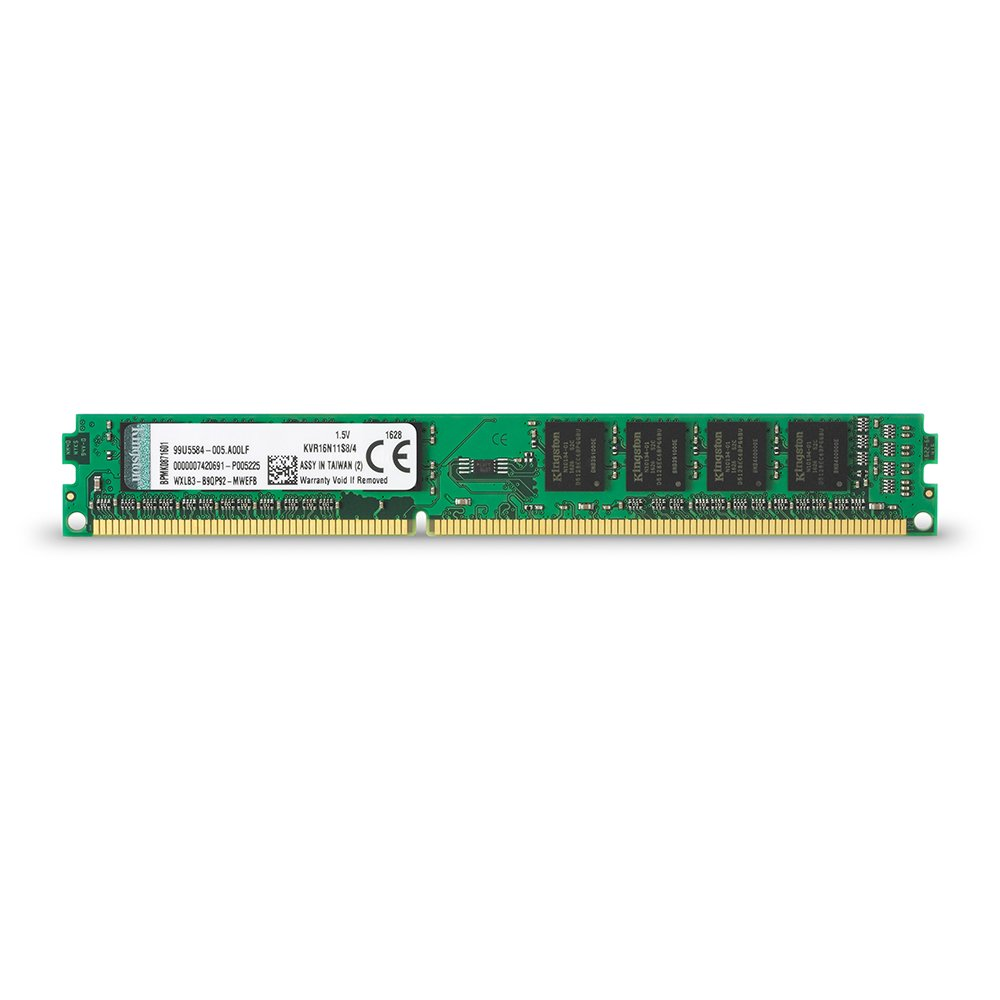 KINGSTON 4GB 1600MHz DDR3 PC Ram KCP316NS8-4