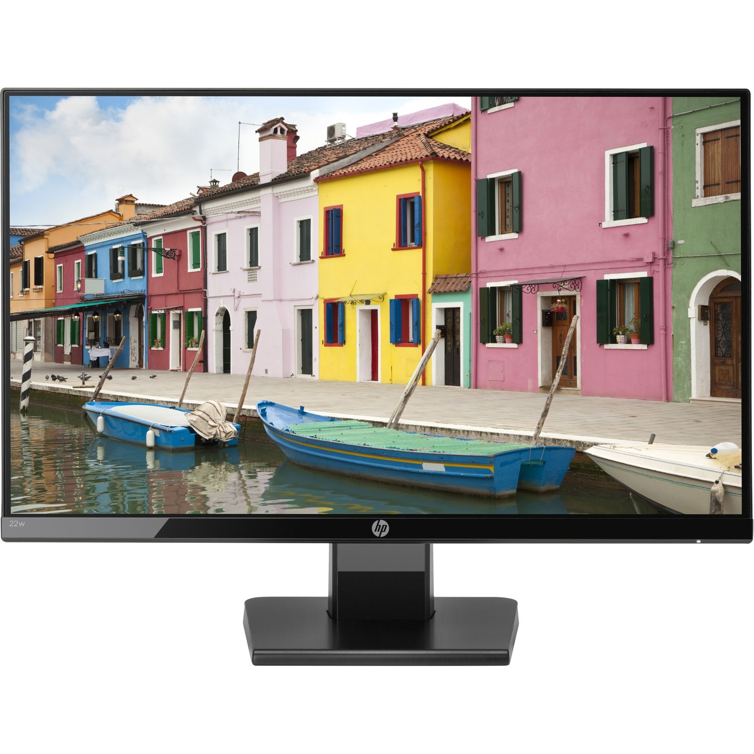 "HP 24W 1CA86AA 23.8"" 5MS 1920x1080 VGA/HDMI VESA SİYAH IPS LED MONITOR"