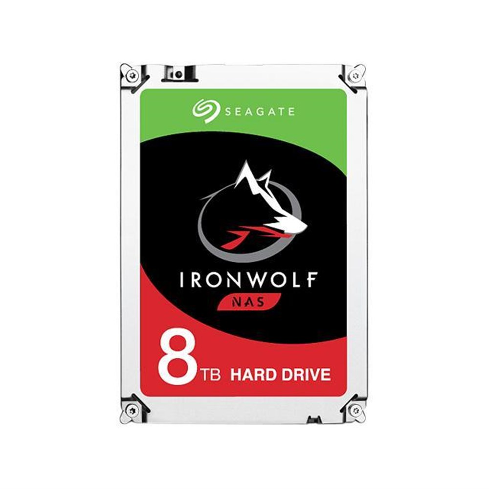 SEAGATE IRONWOLF 8TB 7200RPM 256MB SATA3 6Gbit/sn ST8000VN004 NAS HDD