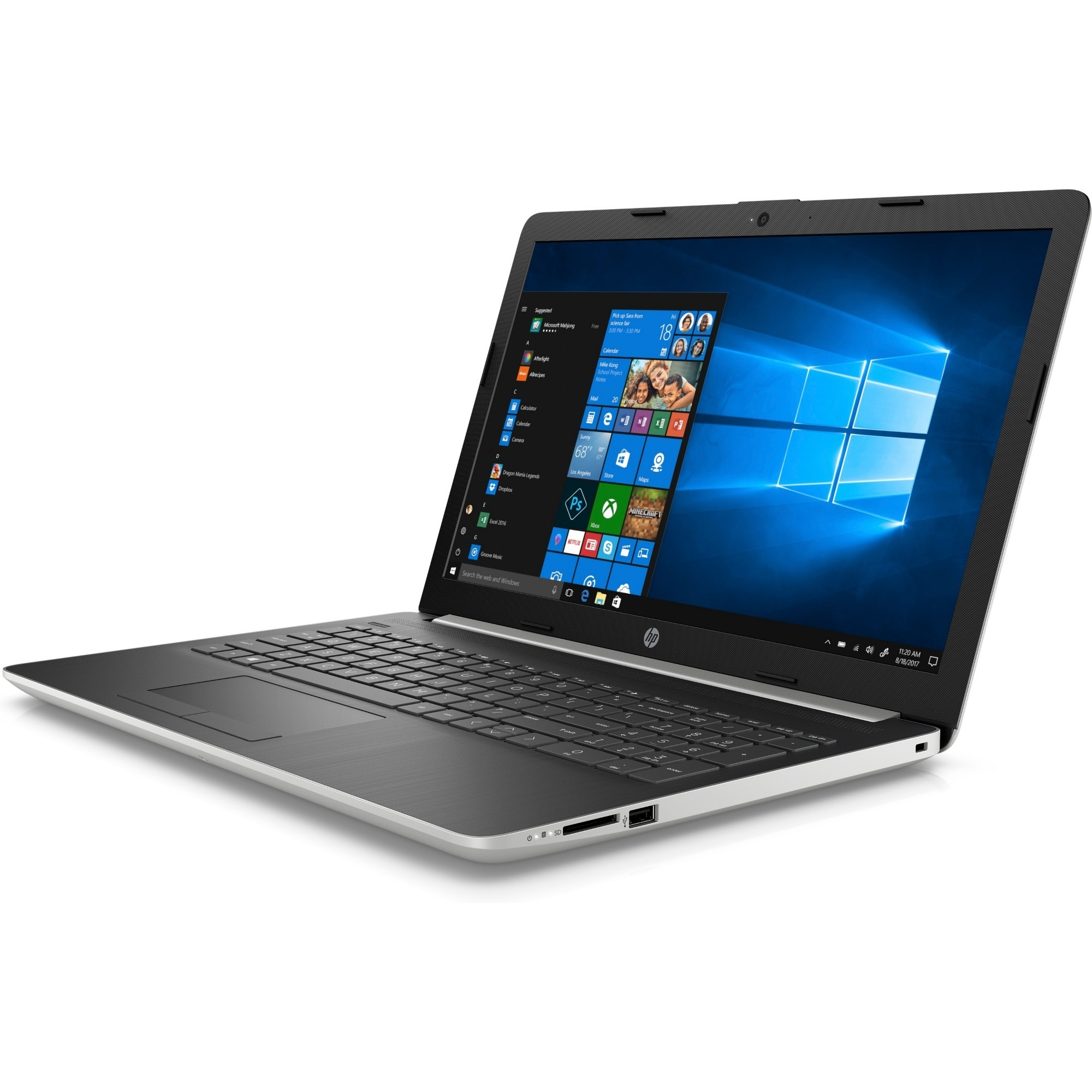 "HP 15-da1062nt 6LK89EA I7-8565U 8GB 512GB SSD 4GB MX130 15.6"" FREEDOS SİYAH NOTEBOOK"