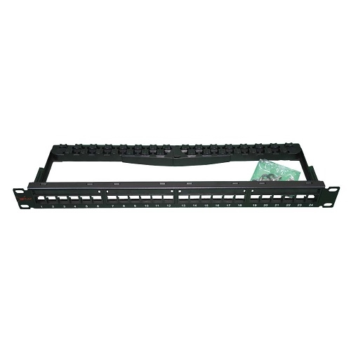 ERAT EDP-C6UTP-024 CAT6 UTP MODÜLER 24 PORT BOŞ PATCH PANEL