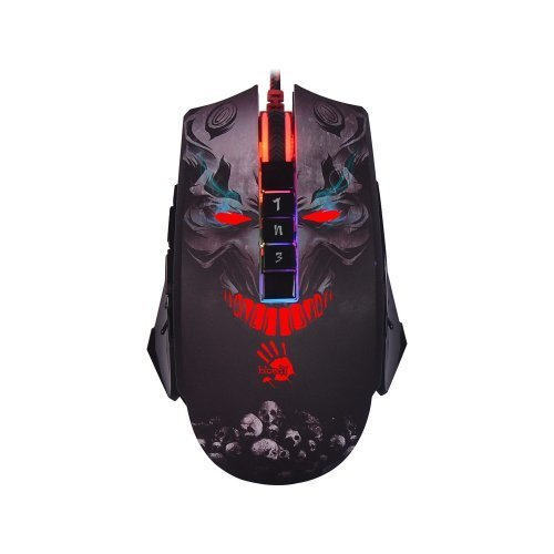 BLOODY P85 USB 5000 DPI Skull Multi Core 8 Tuş RGB Optik Gaming Mouse