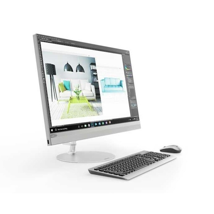 "LENOVO 520-27ICB F0DE00B9TX İ7-8700 8GB 256SSD O/B VGA 27"" DOKUNMATİK FREDOOS ALL IN ONE PC"