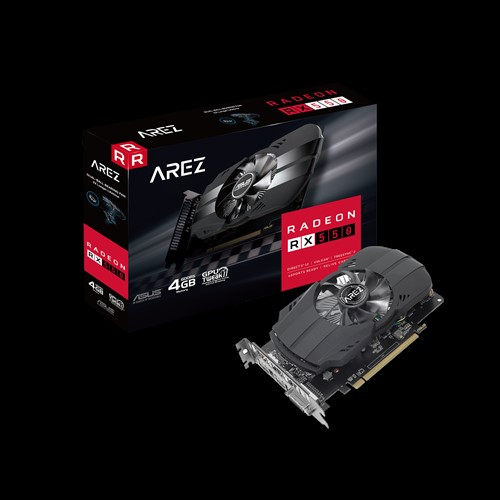 ASUS AREZ PH RX550 4GB DDR5 128Bit DVI/HDMI/DP AREZ-PH-RX550-4G