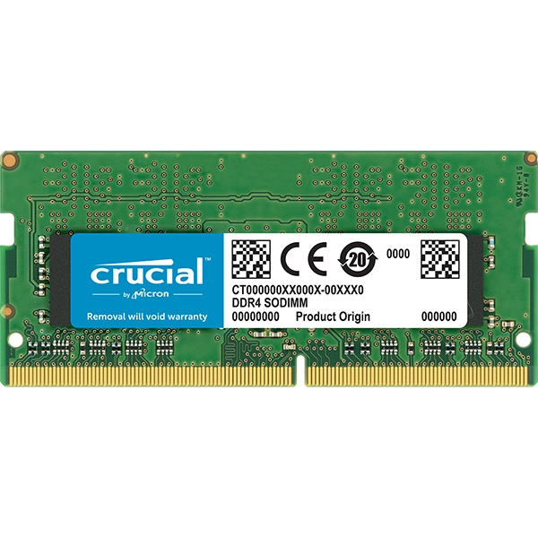 CRUCIAL 8GB 2666MHz DDR4 CT8G4SFS8266 NOTEBOOK RAM
