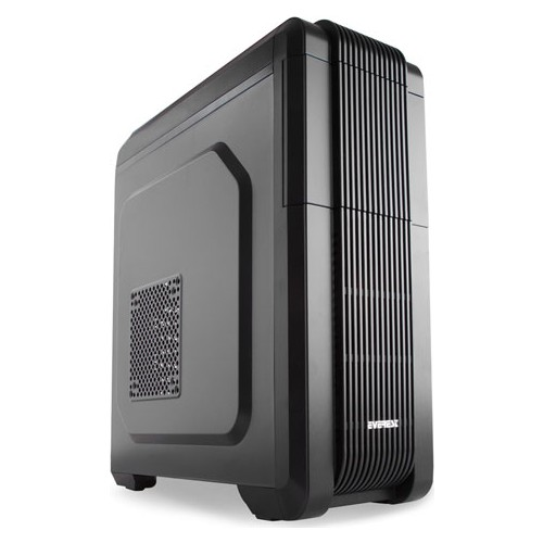 EVEREST ARES-X1 750W 80+ BRONZE 2x12CM FAN MIDI TOWER 2xUSB2.0/1xUSB3.0 SİYAH GAMING KASA