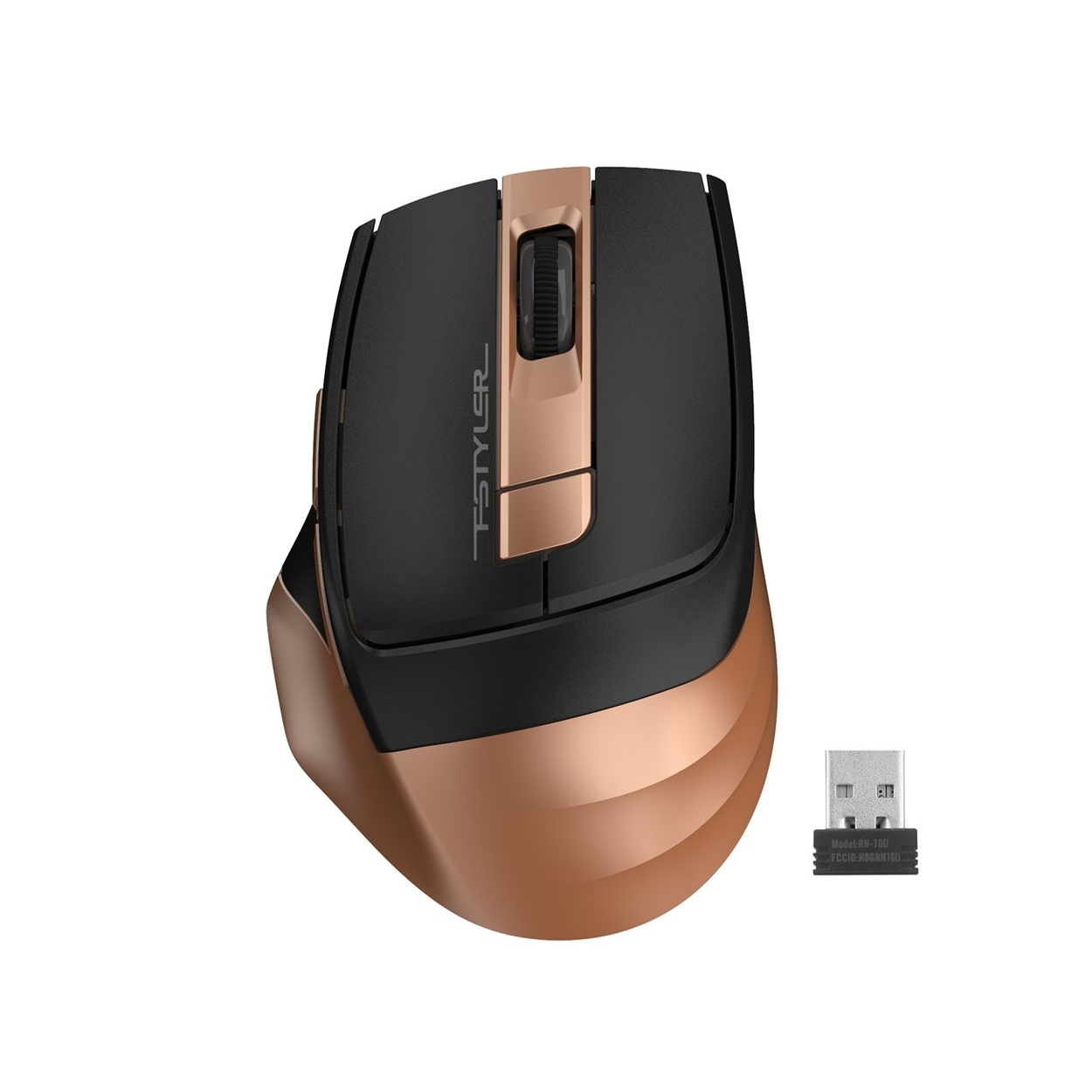 A4 TECH FG35 KABLOSUZ 2000DPI BRONZ OPTIK MOUSE