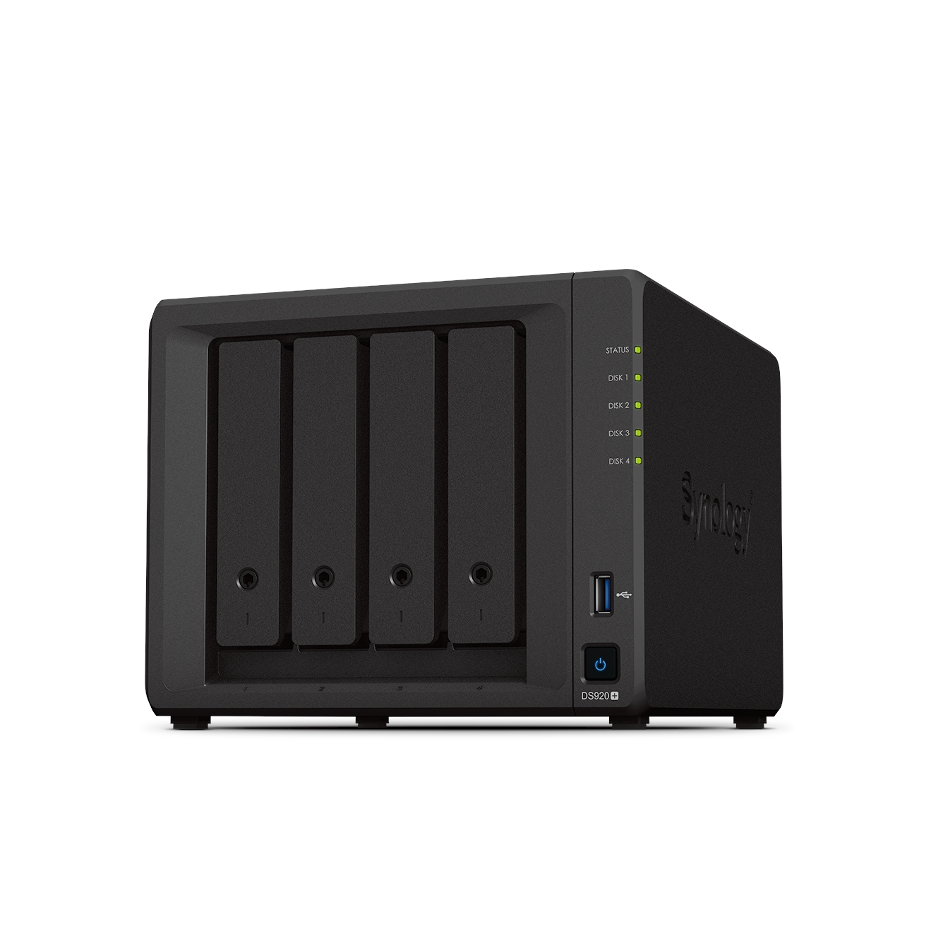 SYNOLOGY DS920 PLUS 4GB 4 BAY 1xGLAN NAS DEPOLAMA ÜNİTESİ