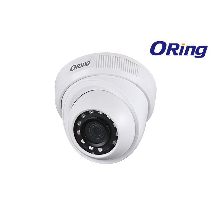 ORİNG OR-HAC-HDW1200R 2MP 3.6MM CMOS 1080P IR LED DOME KAMERA AHD PLASTİK KASA DOME KAMERA