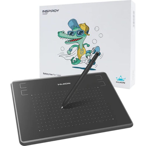 HUION HUH430P 129 X 76.2MM 5080LPI 4096 KADEME SIYAH GRAFİK TABLET