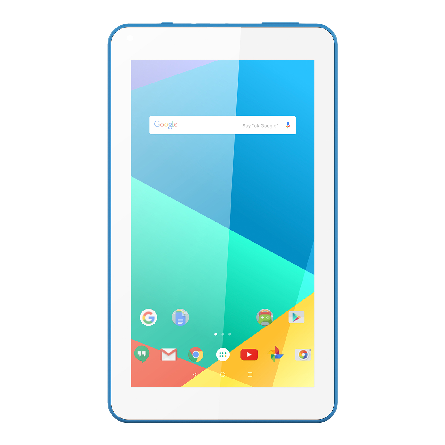 "EVEREST WİNNER PRO EW-2021 QUAD CORE 2GB DDR3 16GB WIFI/BT 7"" 1024X600 CIFT KAMERA BEYAZ/MAVİ ANDROID 10.0 GO TABLET"