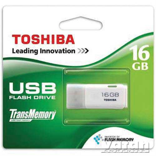 TOSHIBA HAYABUSA 16GB USB2.0 FLASH BELLEK THN-U202W0160E4