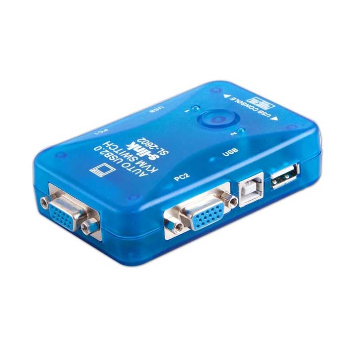 S-LINK SL-2602 2PORT USB KVM SWITCH OTOMATİK