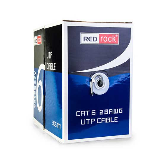 REDROCK 305 MT UTP CAT6 NETWORK KABLO 23AWG 0.57MM