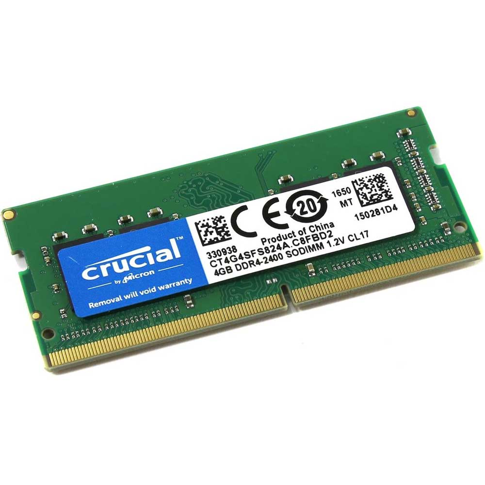 CRUCIAL 4GB 2400MHz DDR4 NOTEBOOK RAM CB4GS2400