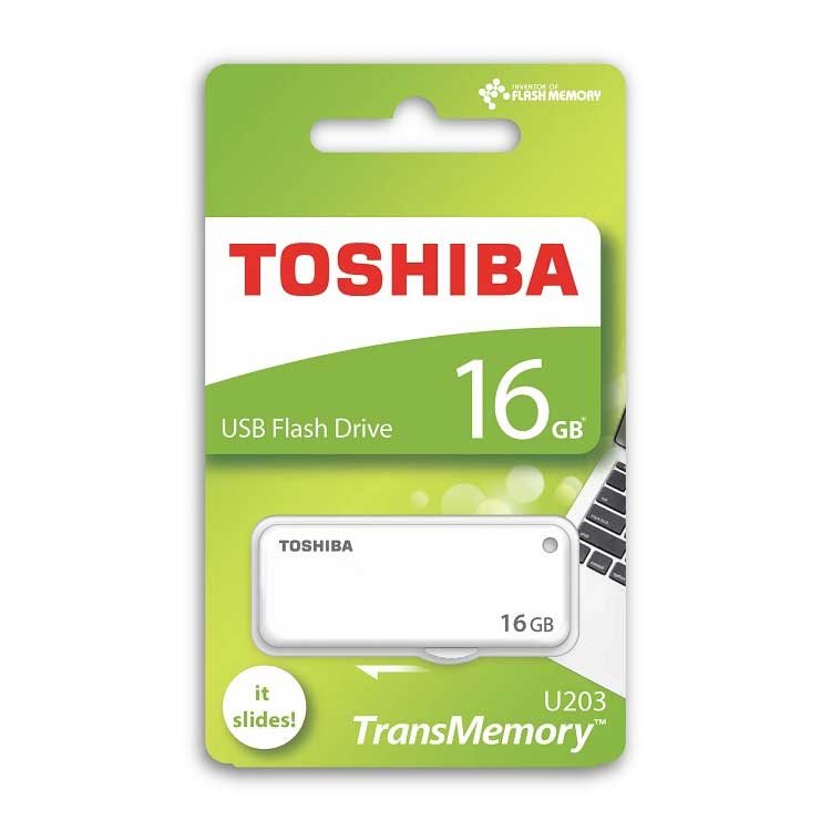 TOSHIBA YAMABIKO U203 16GB USB2.0 FLASH BELLEK THN-U203W0160E4