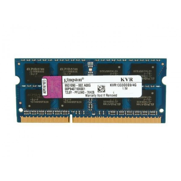 KINGSTON 4GB 1333MHz DDR3 BULK KVR1333D3S9/4G NOTEBOOK RAM