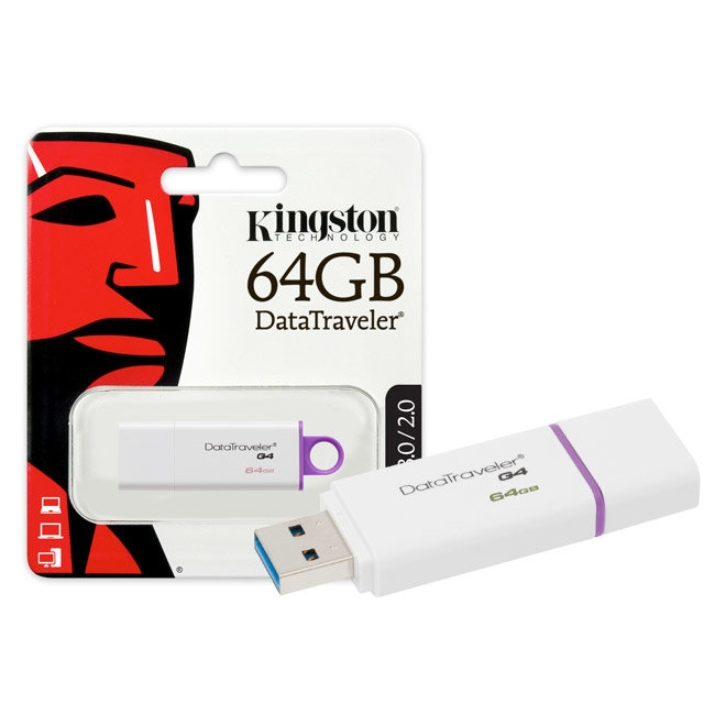 KINGSTON DATATRAVELER 64GB USB3.0 FLASH BELLEK DTIG4/64GB